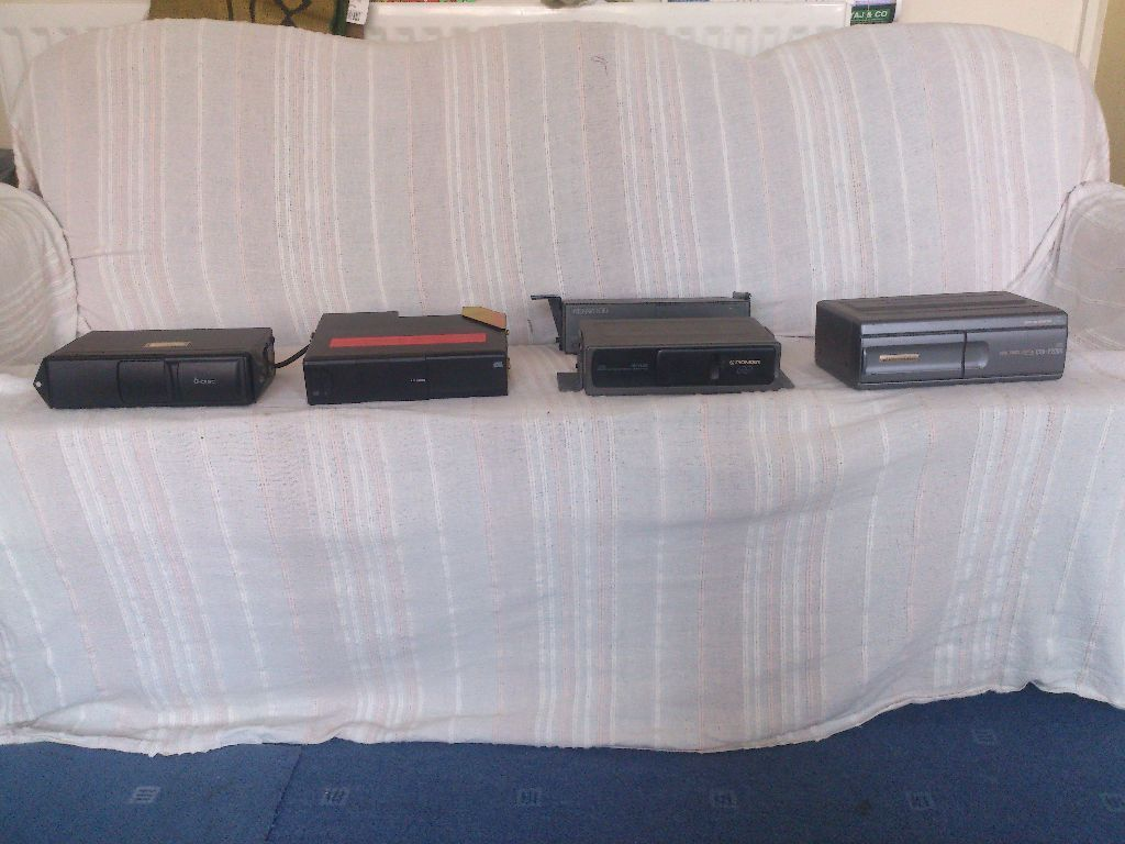 CAR CD CHANGERS, AUDI, BMW, KENWOOD AND PIONEER 6 DISC AND 12 DISC AVAILABLE WITH LEADS