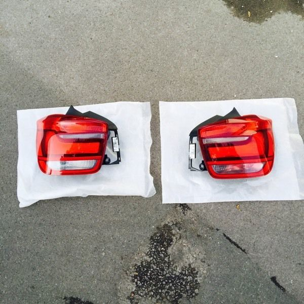 BMW 1 Series Tail/Rear Lights Pair