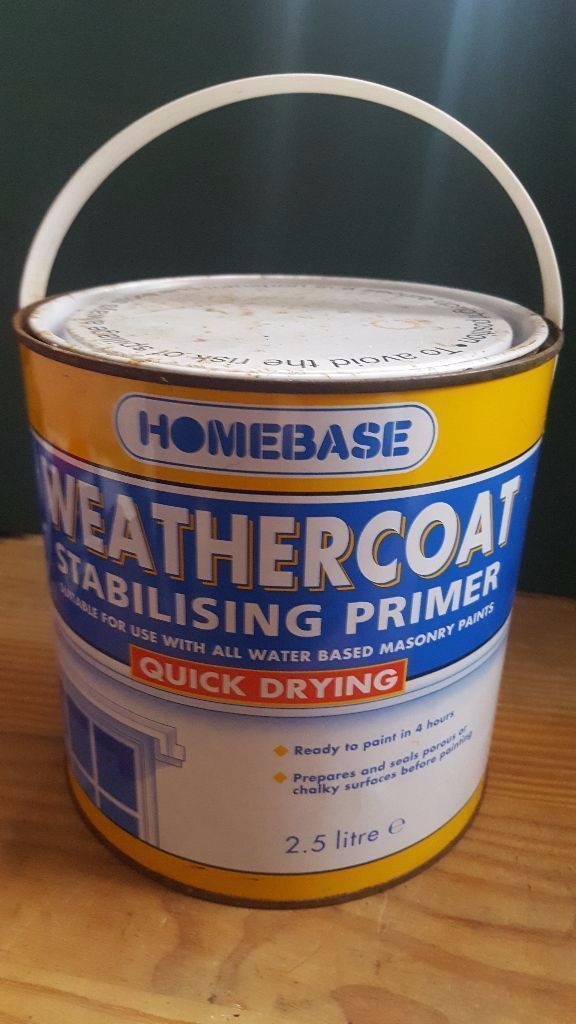 homebase weathercoat stabilising primer quick drying