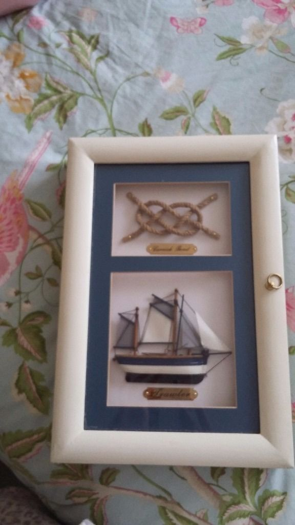 Unusual nautical key holder