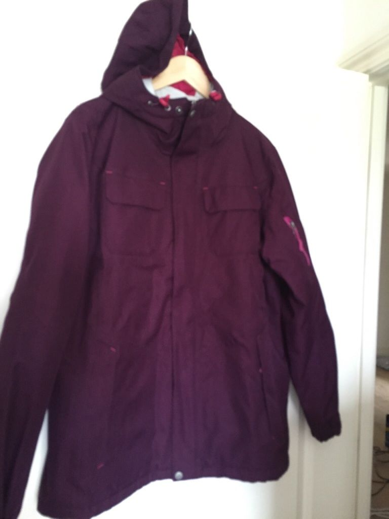 Kathmandu Plum Stromsdal jacket - size 16 - as new, only used once!!!