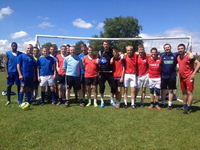 CLAPHAM COMMON FOOTBALL - OLD BOYS FOOTBALL CLUB JUNE/JULY 2016