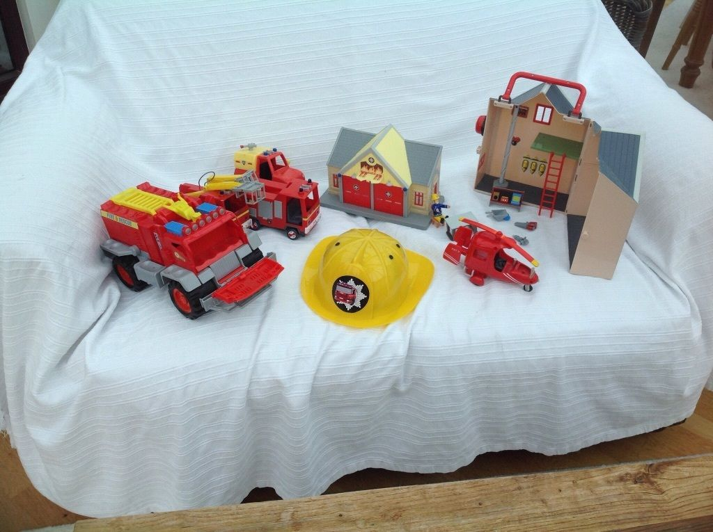 Fireman Sam toys and other fire toys