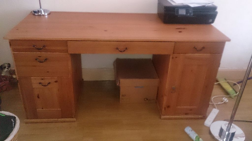 DESK Solid oak