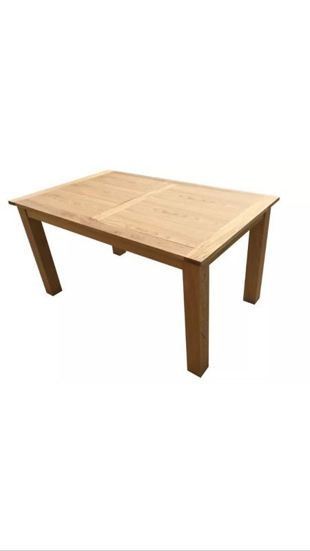 Oak - wood, nature , new , dining table