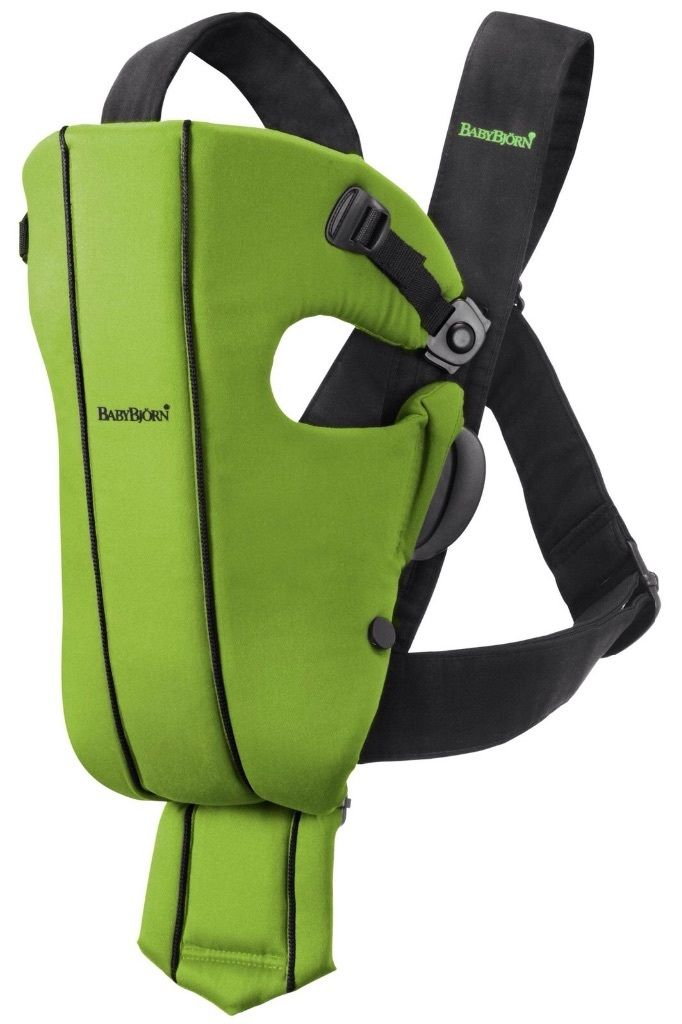 BabyBjorn Baby Carrier Original (Green Spirit)