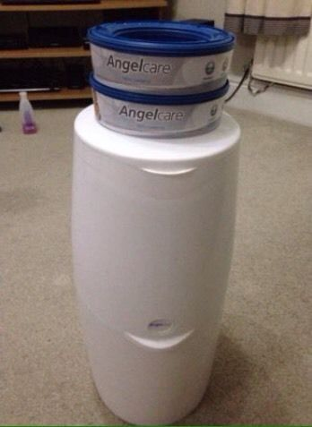 Angel care nappy disposal and two cartridges