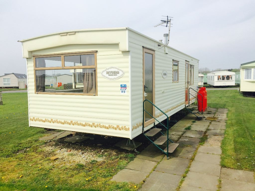 BARGAIN CARAVAN FOR SALE AT SANDY BAY HOLIDAY PARK NEAR NEWCASTLE, AMBLE, BLYTH, WHITLEY BAY