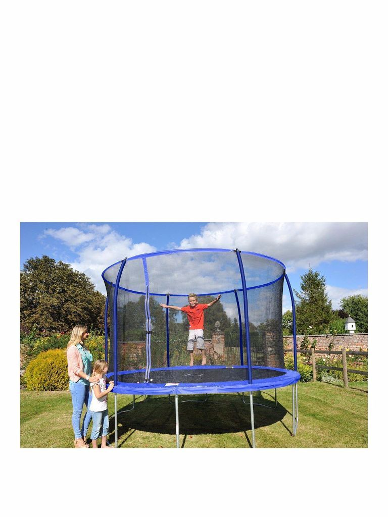 14ft trampoline and safety net