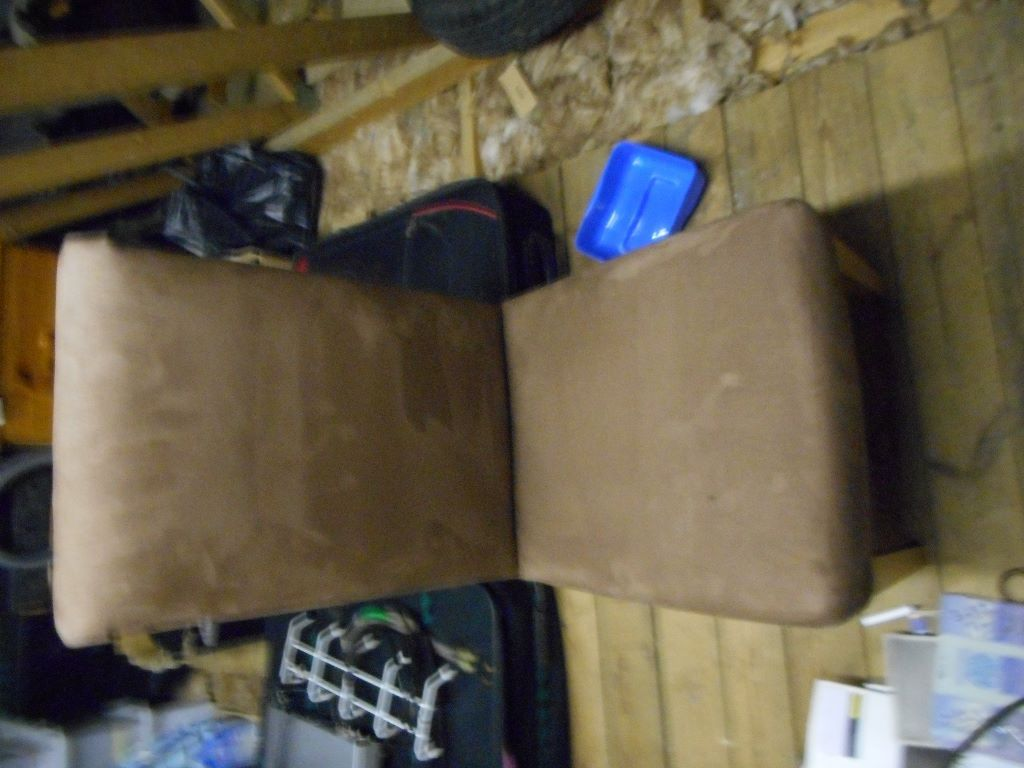 brown sude chairs