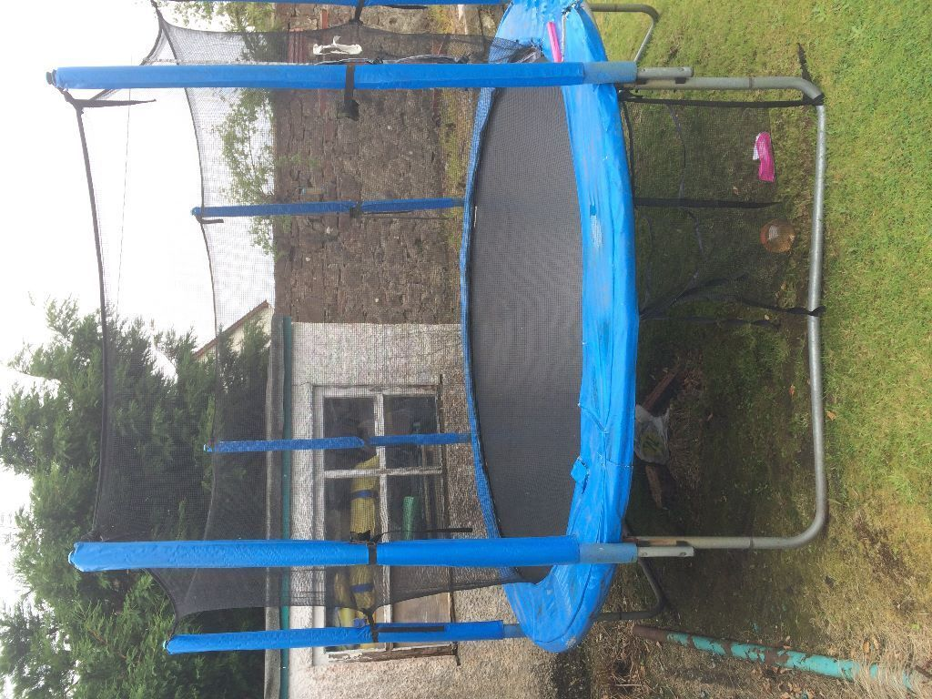 10ft Trampoline with enclosure, Helensburgh