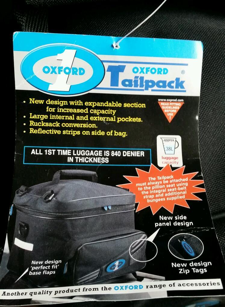Oxford 1 tailpack