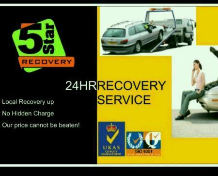 London Cheapest recovery no hidden charges 24HR