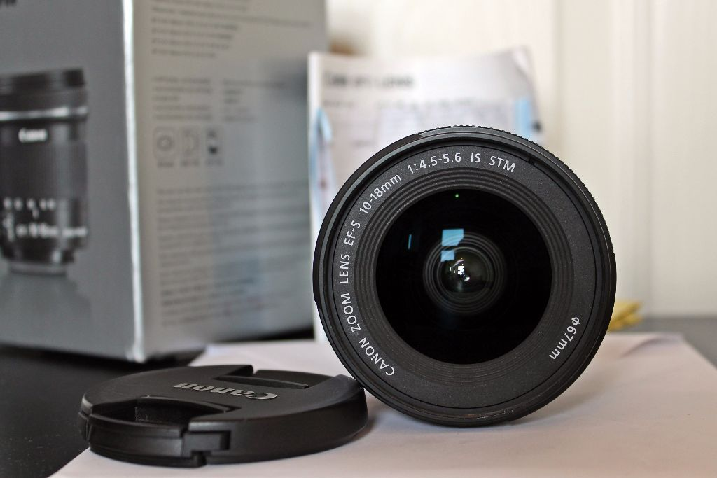 Canon EF-S 10 18 mm f/4.5-5.6 IS STM
