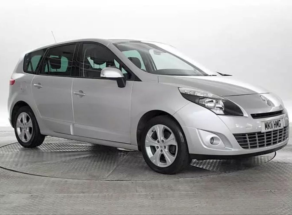 Renault Grand Scenic 2011 Diesel Auto PCO Rental Uber Ready 130pw Rent!