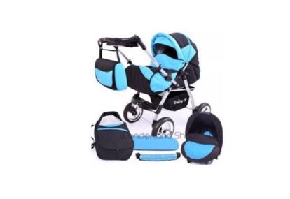 Superb Pram 3 in 1 . Used only a few times.
