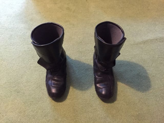 Rich a motorcycle boots size 11 (46)