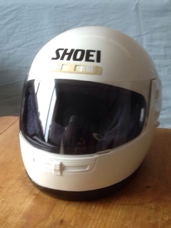 Shoei Classic and rare 1995 motorcycle crash helmet