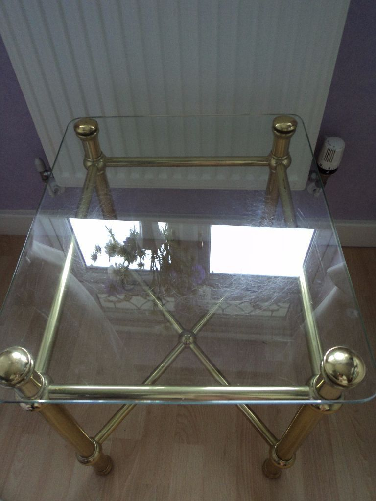 Marks & Spencer Glass Crome Table