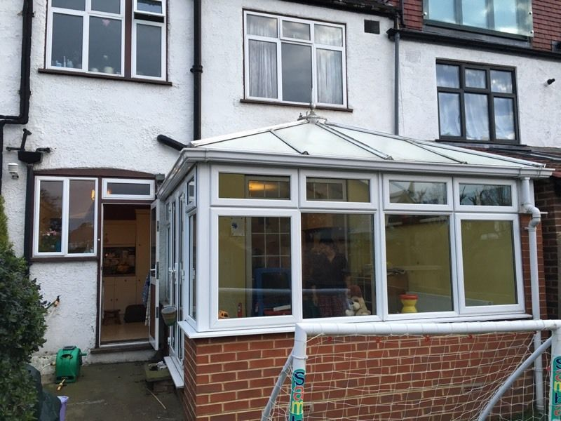 LARGE CONSERVATORY DOUBLE GLAZED IN BRILLIANT CONDITION
