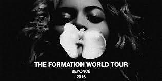 2 X Beyoncé Tickets - Wembly Seated Tickets 3rd July
