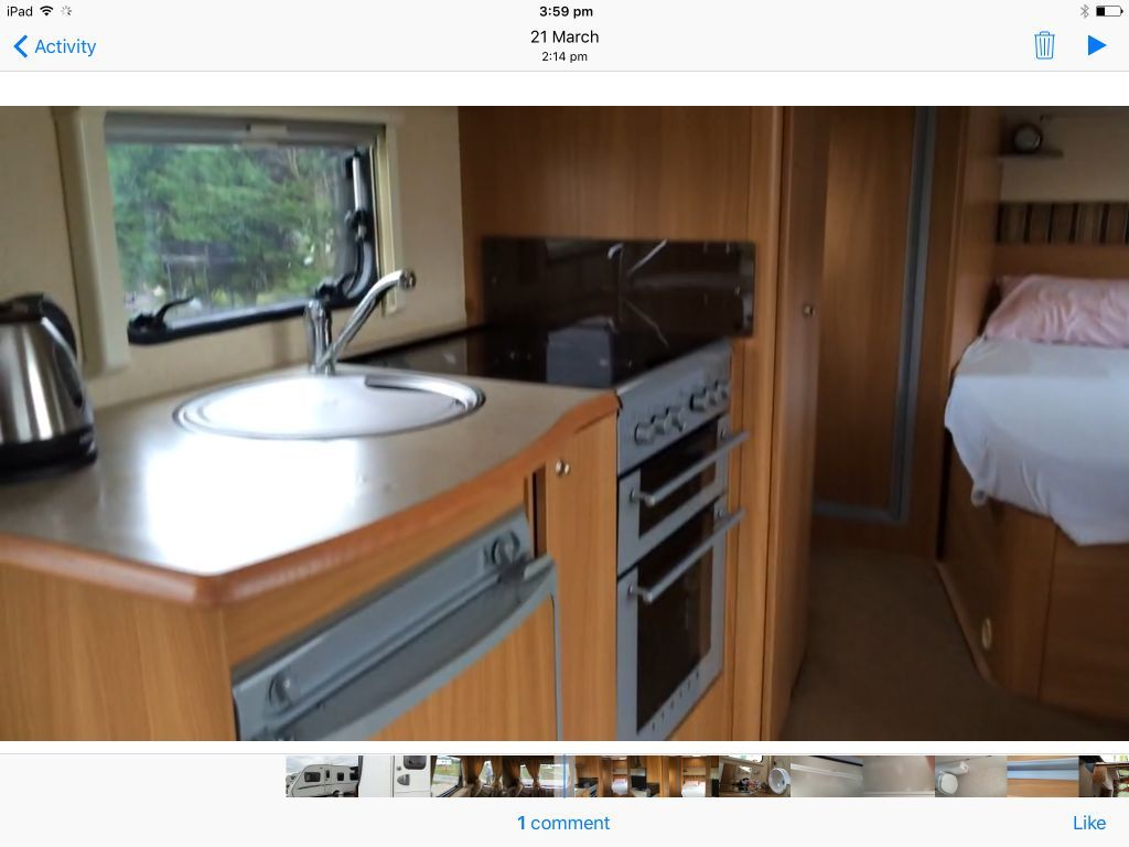 2007 Swift Charisma 555 in Ashbourne Derbyshire