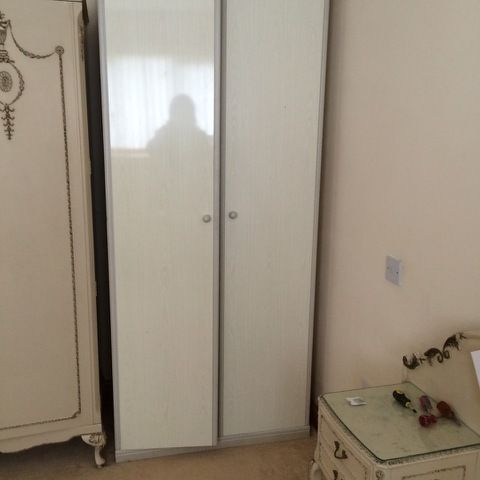 Double wardrobe in good condition