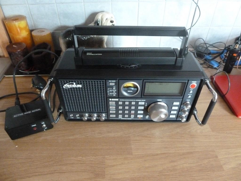 Tecsun S2000 FM/LW/MW/SW SSB Air PLL Synthesized World Band Radio Receiver