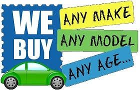 Wanted Cars vans trucks 4x4 mpv caravans Campers Quads mopeds trailers horsebox no mot scrap
