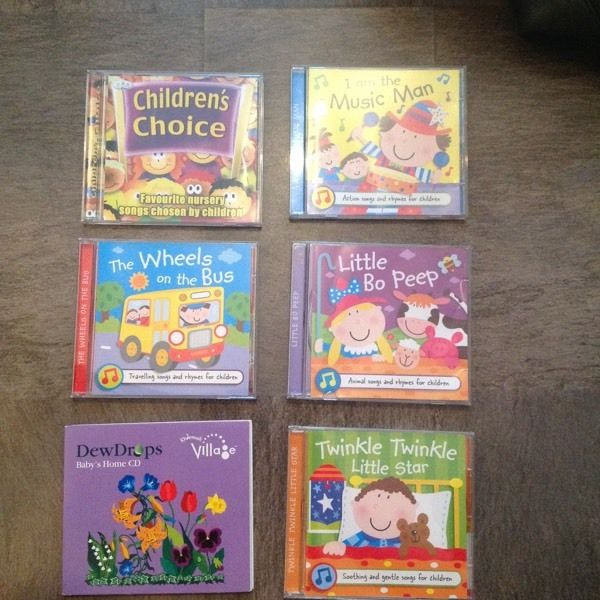 Childrens CD Nursery Rhymes etc Bundle