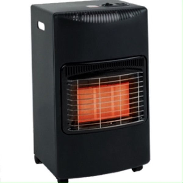As new portable gas heater with new full gas bottle
