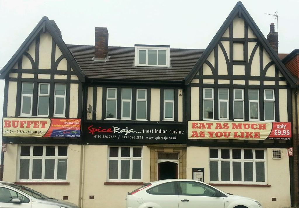 Eat as much as you can. Buffet fully licensed restaurant. 181 High Street