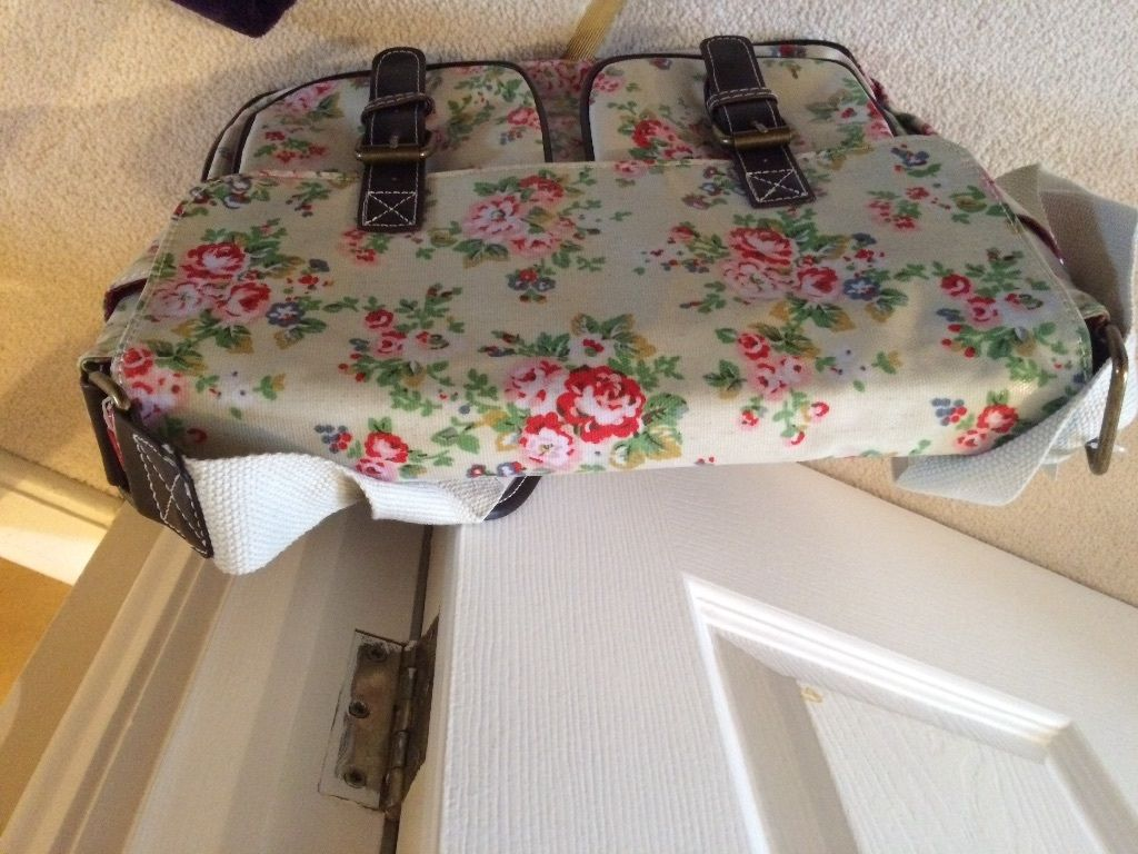 Oilcloth bag brand new. Satchel for school or holiday