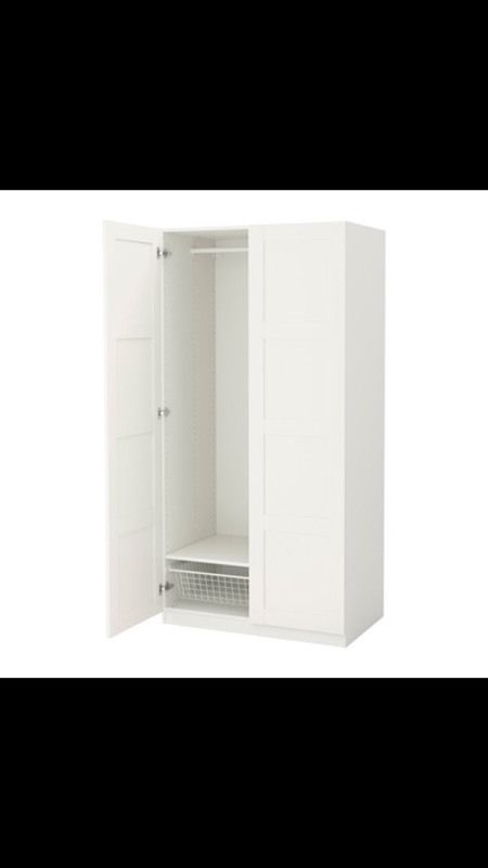 Large double wardrobe