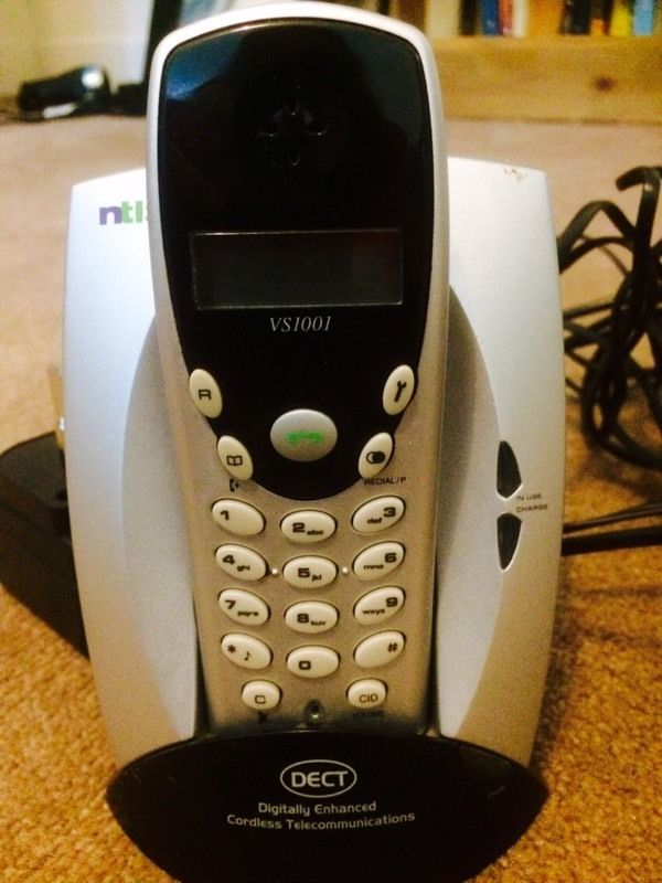 DECT cordless telephone in perfect working order.