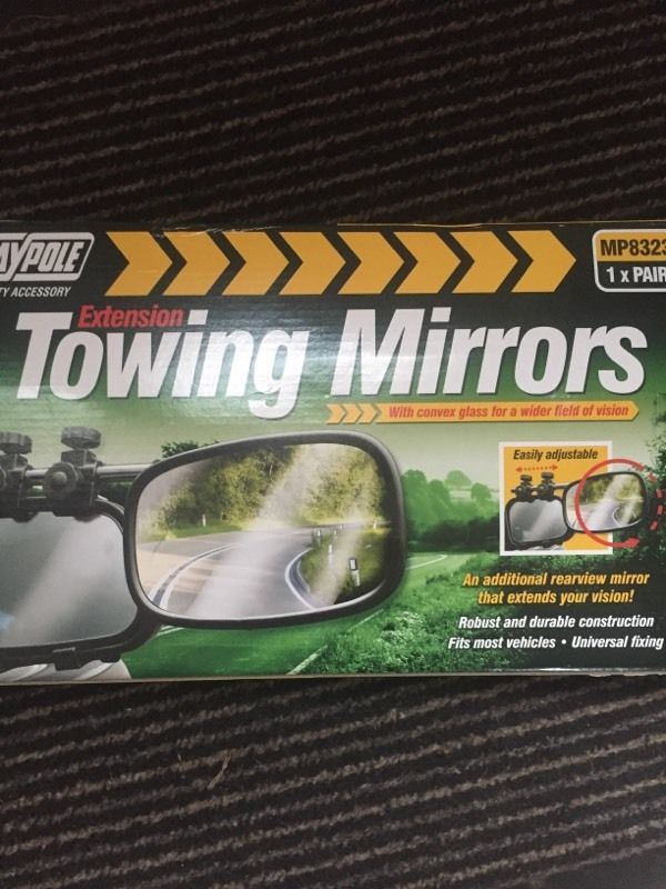 Towing mirrors-brand new
