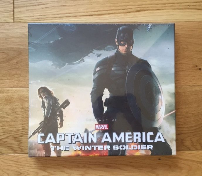 The Art of Captain America Winter Soldier