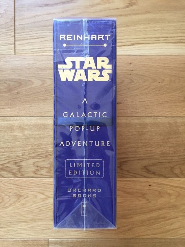 Star Wars A Galactic Pop-Up Adventure Limited Edition