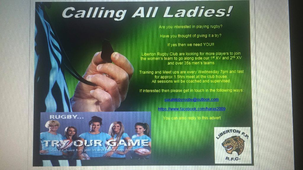 To all the Women out there.... Are you looking for a new sport? IF Yes look no Further.