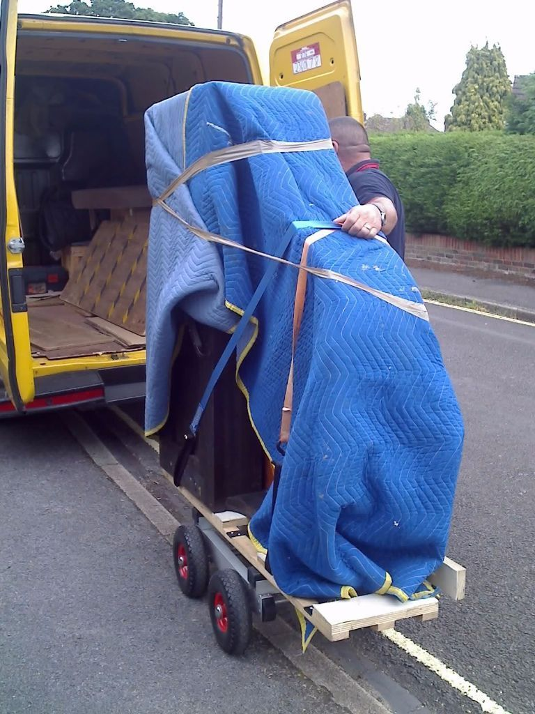 Part time, Occasional Piano Mover's Assistant