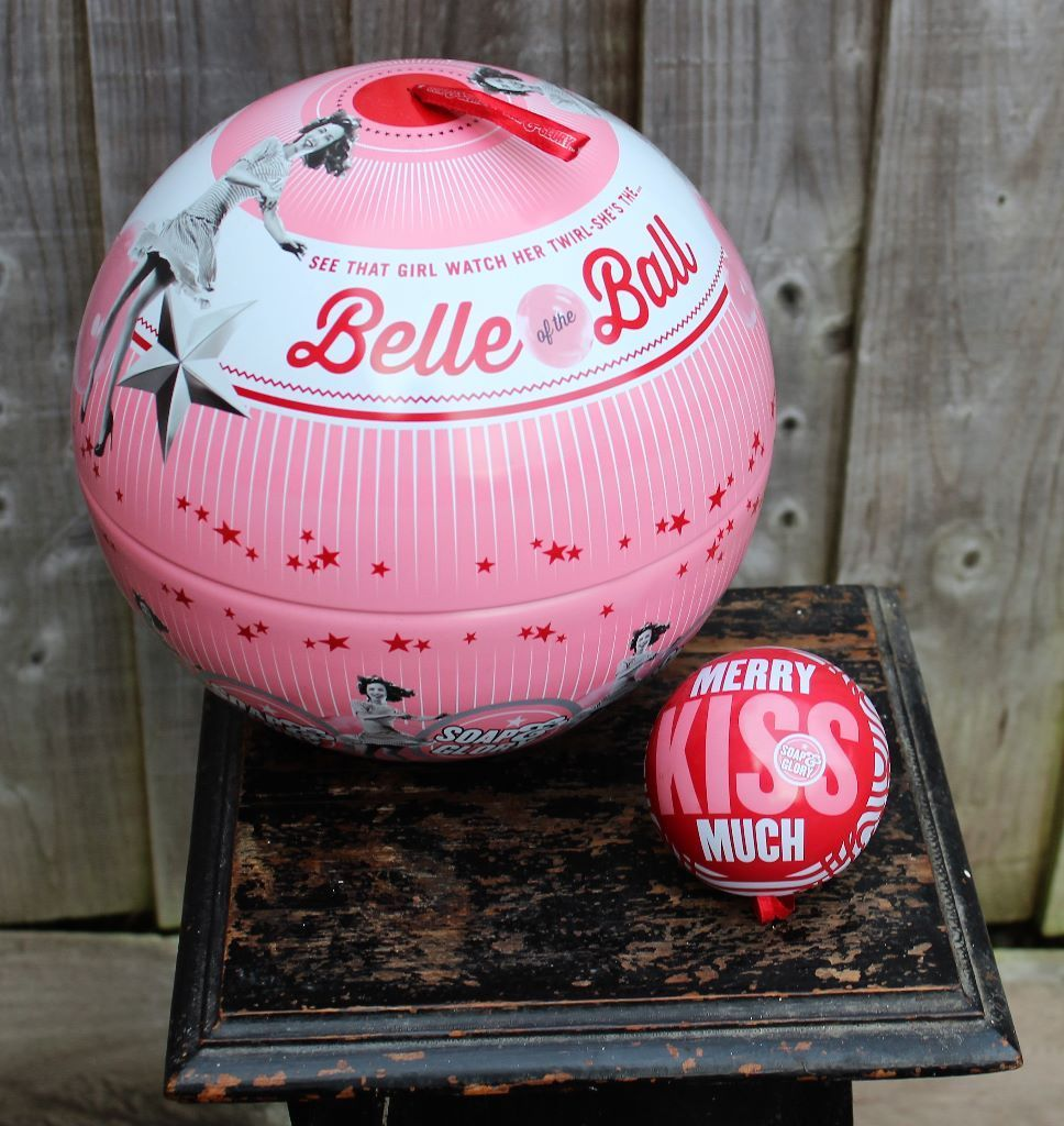 Soap and Glory Metal Baubles x 2 Large and Small