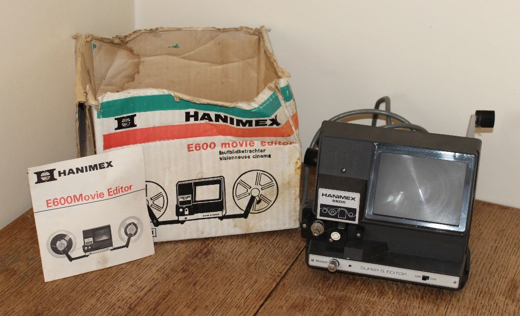 Hanimex E600 Film Editor - For Spares