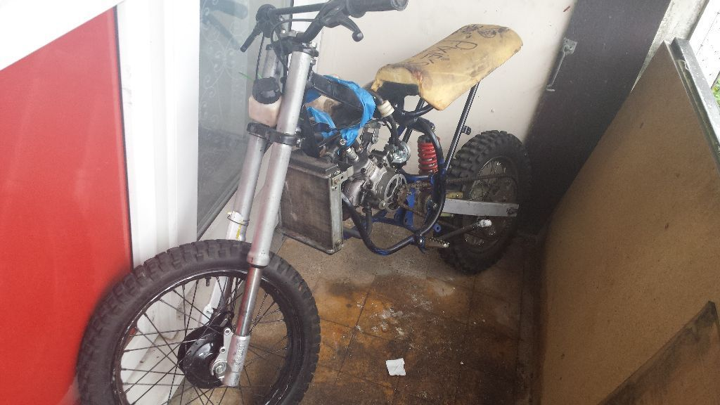 kids off road scrambler project not finished