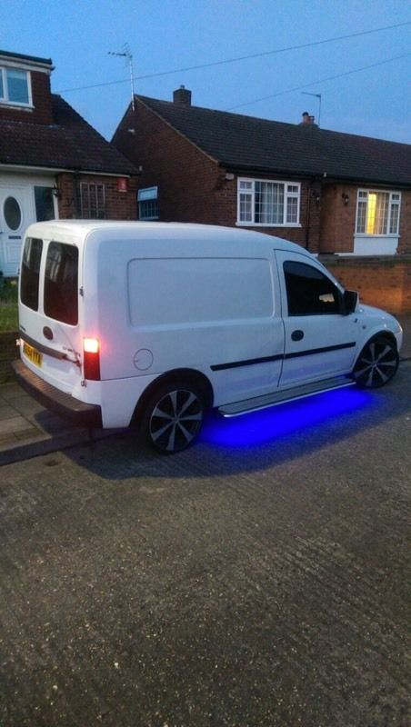 Modified combo van