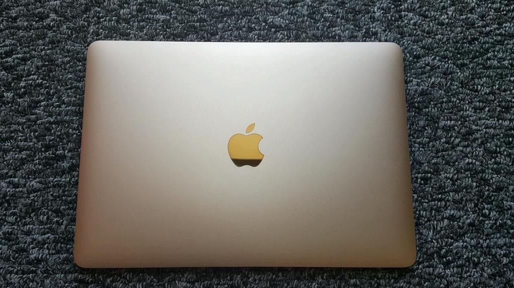 "Original display full for Macbook 12"" A1534 gold"