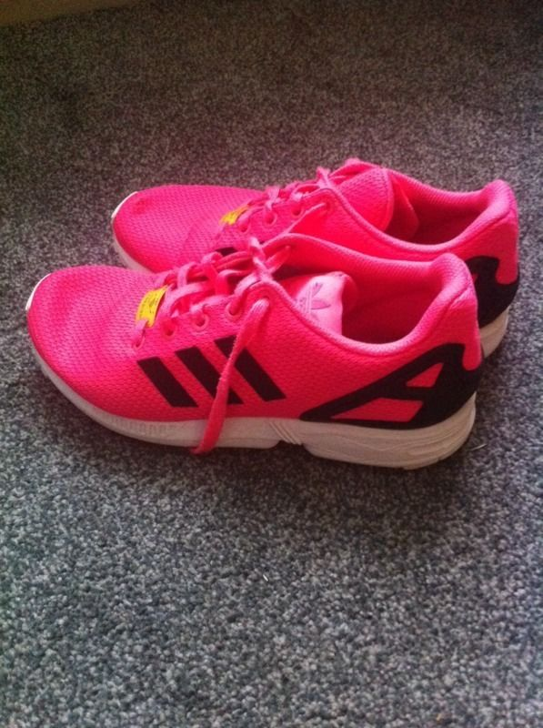 Adidas trainers zx flux originals size 5
