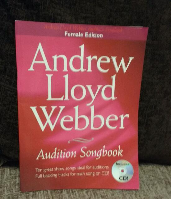 Andrew Lloyd Webber audition songbook