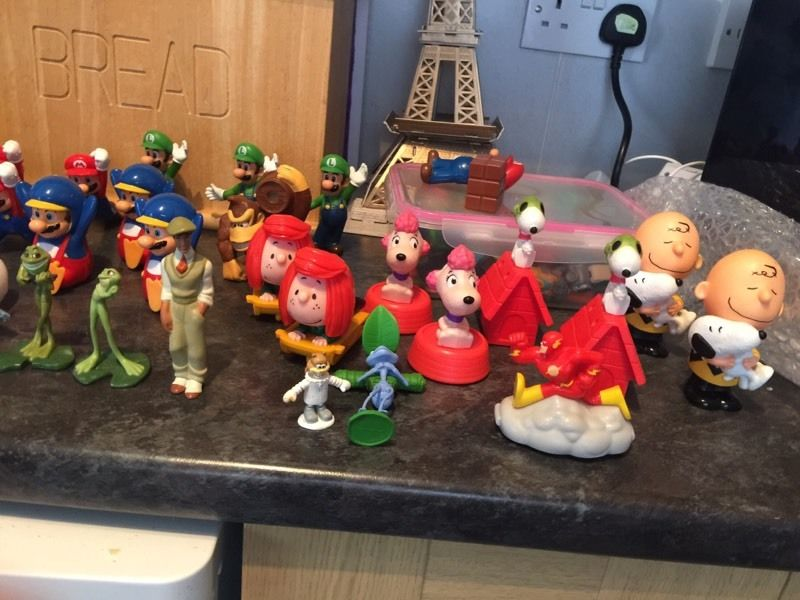 McDonald toys & kinder egg collection