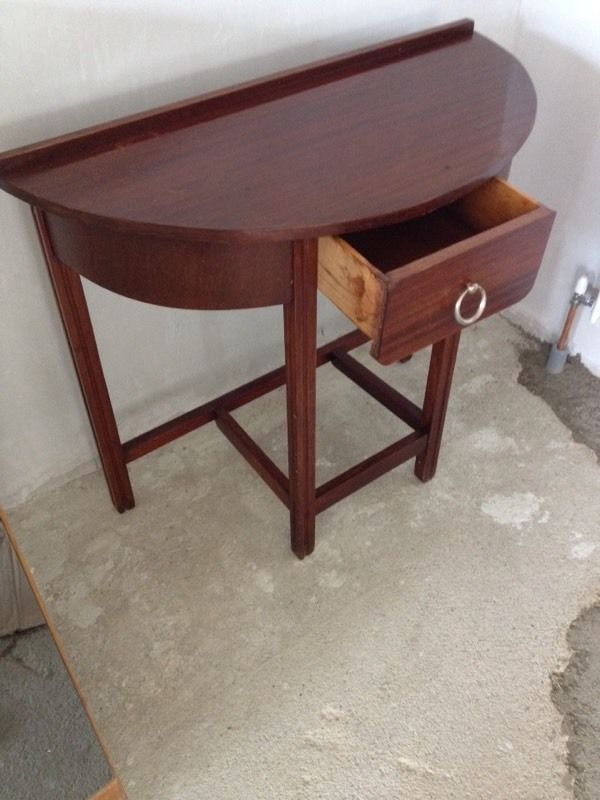 Half Moon Hall Table - Can Deliver