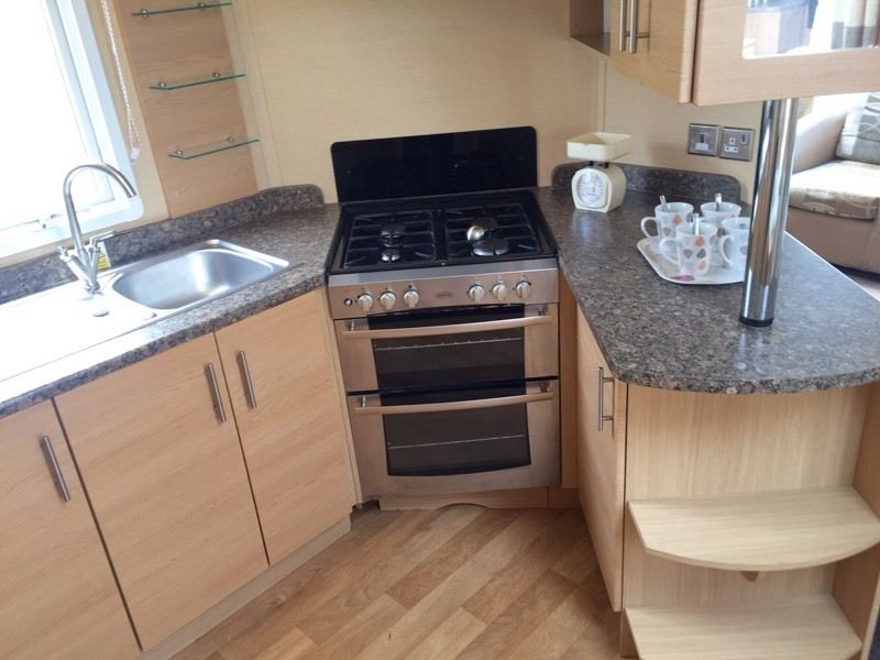 Stunning caravan holiday home for sale in beautiful borth